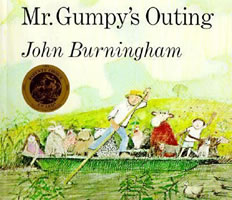 Mr. Gumpy's Outing book cover