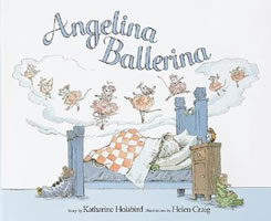 Angelina Ballerina book cover