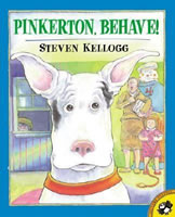 Pinkerton, Behave! book cover