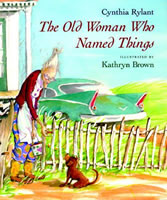 The Old Woman Who Named Things book cover