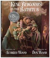 King Bidgood's in the Bathtub book cover