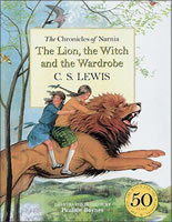 The Lion, the Witch, and the Wardrobe book cover