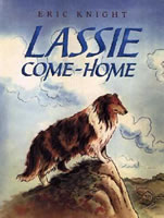 Lassie Come-Home book cover