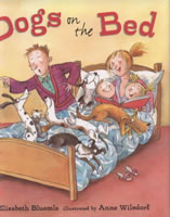 Dogs on the Bed book cover