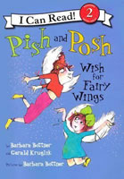 Pish and Posh Wish for Fairy Wings book cover