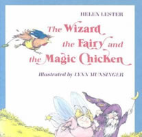 The Wizard, the Fairy, and the Magic Chicken book cover