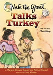 Nate the Great Talks Turkey book cover