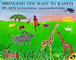 Bringing the Rain to Kapiti Plain book cover