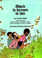 Black is brown is tan book cover