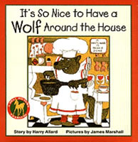 It's So Nice to Have a Wolf Around the House book cover