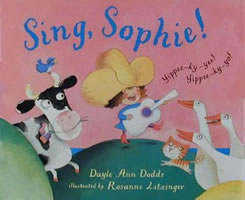 Sing, Sophie! book cover