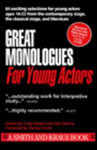 Great Monologues for Young Actors book cover
