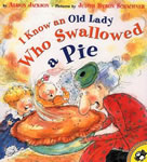 I Know an Old Lady Who Swallowed a Pie book cover