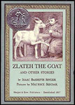 Zlateh the Goat and Other Stories book cover