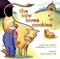 The Cow Loves Cookies book cover