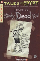 Diary of a Stinky Dead Kid book cover