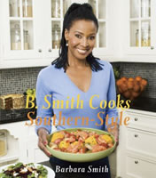 B. Smith Cooks Southern Style book cover