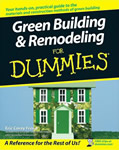 Green Building and Remodeling for Dummies book cover