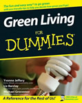 Green Living for Dummies book cover