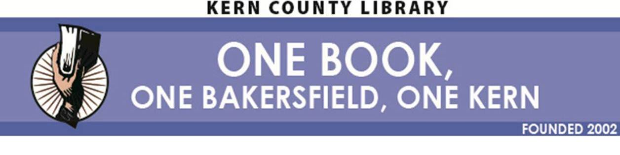 One Book, One Bakersfield, One Kern logo